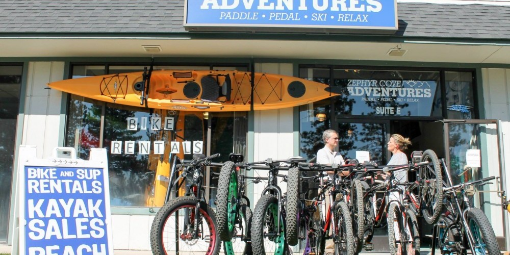 Zephyr Cove Adventures - Our New Store