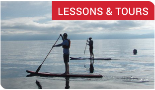 SUP & Kayak Lessons & Tours on Lake Tahoe