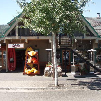 Tahoe City Kayak Retail Location