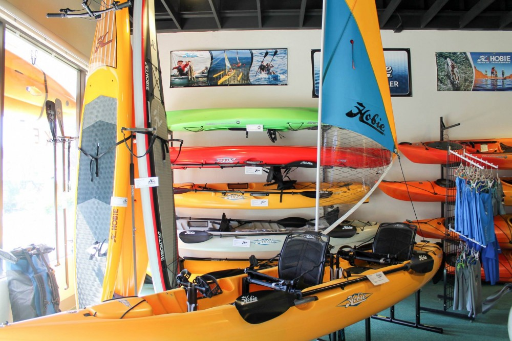 Zephyr Cove Adventures Hobie Kayaks