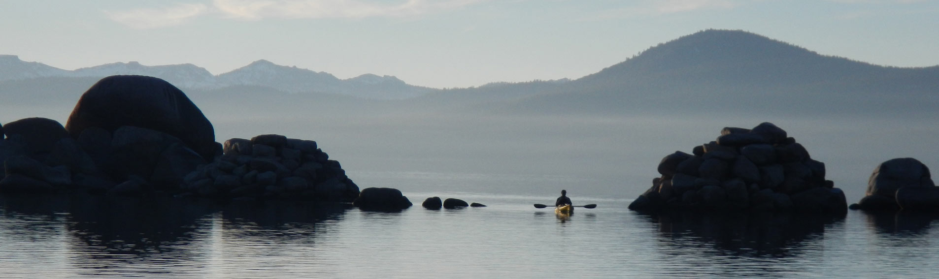 Morning Lake Tahoe Kayaking